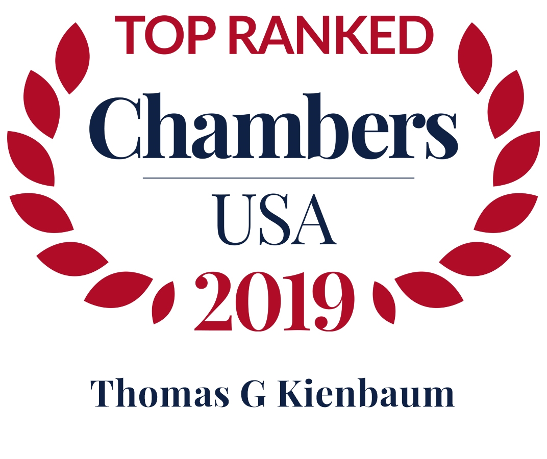 2019 top ranked chambers thomas g kienbaum