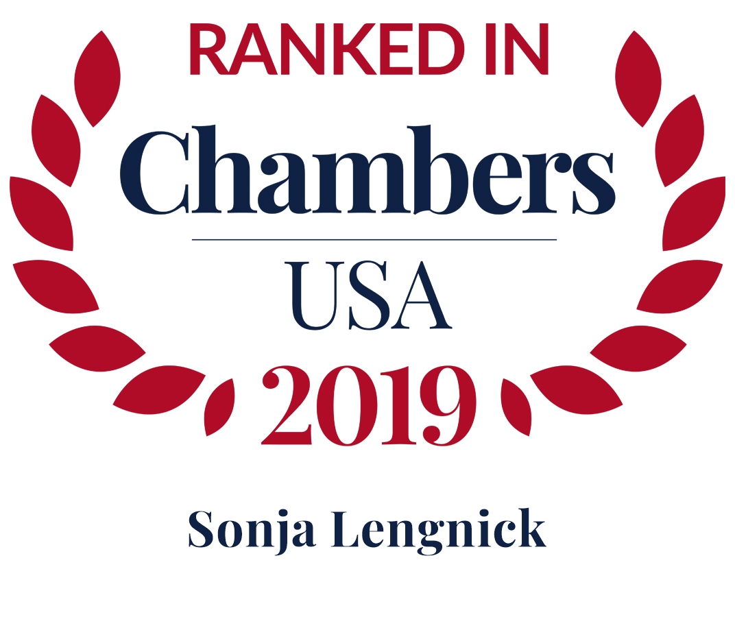 2019 top ranked chambers sonja lengnick