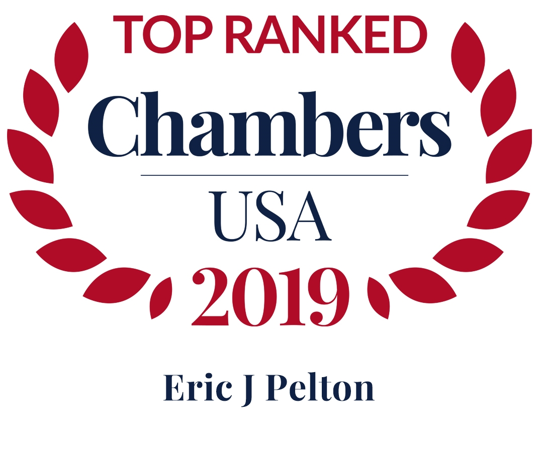 2019 top ranked chambers eric j pelton
